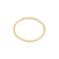 J.Crew Brvtvstm 14K Gold Chain Link Ring