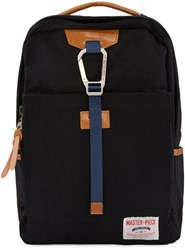 Master Piece Co Black Buckle Backpack