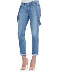 Paige Denim Phillipa Tomlin Overall Denim Jeans
