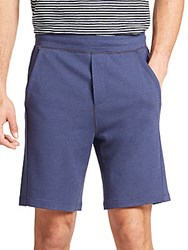 Saks Fifth Avenue Jersey Shorts Navy