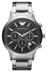Men's Emporio Armani Stainless Steel Bracelet Watch 43Mm
