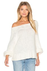 Free People Beachy Slouch Sweater Ivory