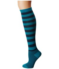 Life Is Good Knee Socks Teal Blue Women's Knee High Socks Shoes
