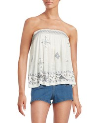 Free People You Got It Bad Tube Top White
