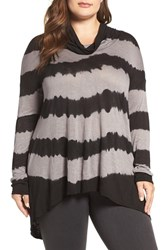 Lucky Brand Plus Size Women's Cowl Neck Tunic