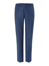 Corsivo Aristo Pindot Suit Trousers Blue