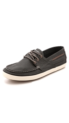 Tretorn Otto Boat Shoes Charcoal