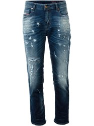 Diesel 'Rizzo' Straight Jeans Blue