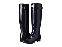 Hunter Original Gloss Navy 1 Women's Rain Boots