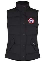Canada Goose Freestyle Black Quilted Shell Gilet