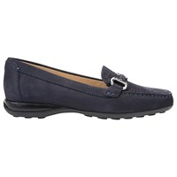 Geox Euro Flat Slip On Loafers Navy