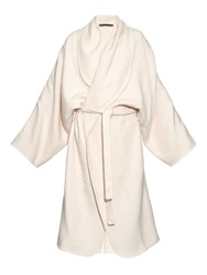 Denis Colomb Hand Woven Cashmere Cardigan