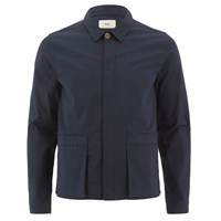 Folk Men's Pocket Detail Jacket Navy Blue