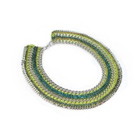 Miss High And Low Lime Necklace Green Yellow Orange
