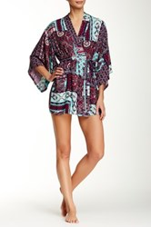 Josie Printed Robe Multi