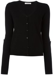 Dorothee Schumacher Elbow Detail Cardigan Black