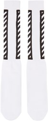 Off White Logo Socks