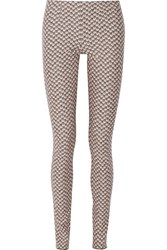 Missoni Crochet Knit Wool Skinny Pants Black