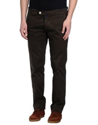 Mastai Ferretti Casual Pants Dark Brown
