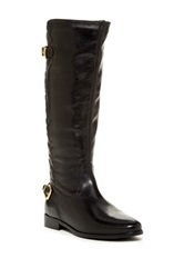 Catherine Malandrino Emma Quilted Riding Boot Black