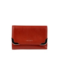Coccinelle Wallets Brick Red