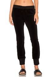 Pam And Gela Betsee Velour Sweatpants Black
