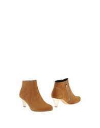 Gaspard Yurkievich Ankle Boots Tan