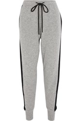 Markus Lupfer Wool And Cashmere Blend Track Pants