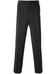 Canali Straight Trousers Grey