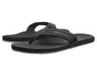 Quiksilver Carver Nubuck Solid Black Men's Sandals