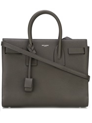 Saint Laurent Small 'Sac De Jour' Tote Grey