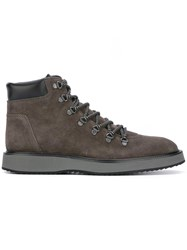 Hogan 'Route X' Ankle Boots Grey