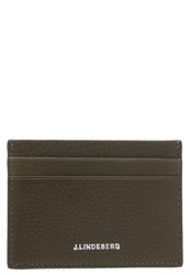 J. Lindeberg J.Lindeberg Business Card Holder Military Green