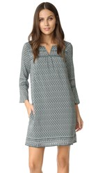 Madewell Bell Sleeve Dress Utopian Pine