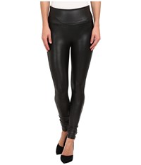 Spanx Ready To Wow Faux Leather Leggings Black Women's Casual Pants