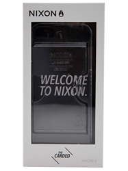 Nixon 'Carded' Iphone 5 Case White