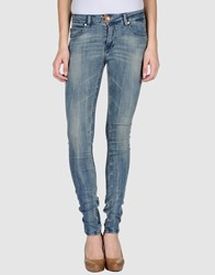 Plein Sud Jeanius Denim Denim Trousers Women Blue