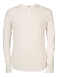 J. Lindeberg Amo Surface Ace Long Sleeve Top Off White