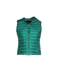 313 Tre Uno Tre Coats And Jackets Down Jackets Women Green