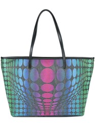 Etro Geometric Print Shoulder Bag Multicolour
