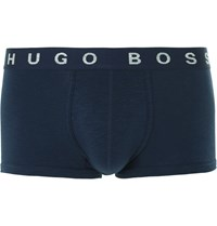 Hugo Boss Authentic Stretch Cotton Boxer Briefs Blue