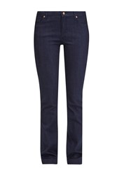 French Connection Narrow Belle Bootcut Jeans Blue