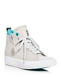 Converse Chuck Taylor All Star Selene Shield Canvas High Top Sneakers Mouse Gray