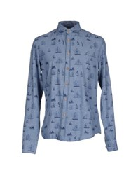 Individual Shirts Shirts Men Slate Blue