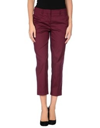 Miu Miu Casual Pants Deep Purple