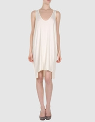 Spina Short Dresses Ivory