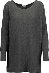 Joie Zephyrine Textured Knit Sweater Gray