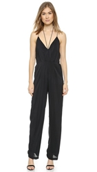 Reverse You Know You Want Me Jumpsuit Black