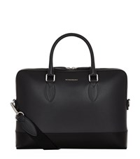 Burberry Shoes And Accessories Contrast Bottom Briefcase Unisex Black