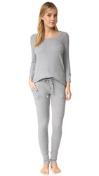 Splendid Solstice Pj Set Medium Marled Heather